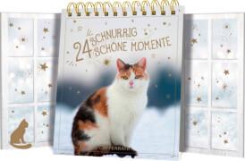 24 schnurrig schöne Momente, Tisch-Adventskalender