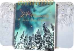 24 Momente, die wie Sterne leuchten, Tisch-Adventskalender