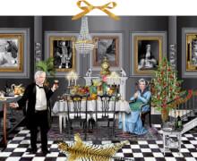 Christmas Dinner for One, Zettel-Adventskalender (Behr)