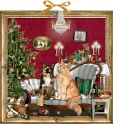 Die Weihnachtsverschwörung, Zettel-Adventskalender