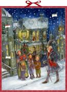 Die Weihnachtsgeschichte von C.Dickens, Zettel-Adventskalender