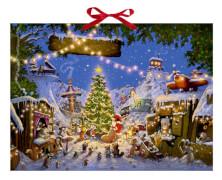 Weihnachtsmarkt der Tiere, Adventskalender