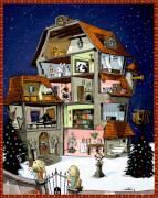 Se.Cr.Et-Kids Finde den Weihnachtsschatz, Zettel-Adventskalender