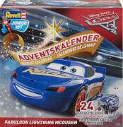 REVELL 01016 Adventskalender Lightning McQueen, ab 4 Jahre