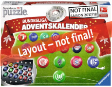 Ravensburger 116959 Bundesliga Adventskalender