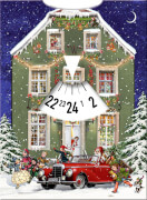 Warten auf Weihnachten, Adventskalender-Drehscheibe (Behr)