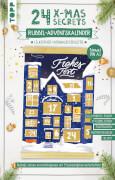 24 X-MAS SECRETS-Fenster Rubbel-Adventskalender