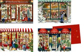 Nostalgische Läden, Mini-Adventskalender-Sort. (Behr)