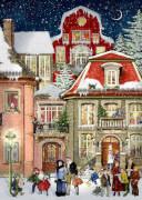 In der Weihnachtsgasse, Wand-Adventskalender A4 (Behr)