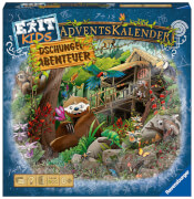 Ravensburger 18957 EXIT Adventskalender kids - Dschungel-Abenteuer