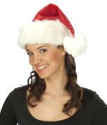 Weihnachtsmütze Pailletten