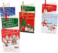 Depesche 4786 Weihnachtsklammerkarten
