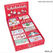 Depesche 8633 X-MAS Dreams Weihnachts-Schokolade, 12,5g