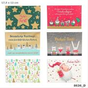 Depesche 8636 Postkarten Weihnachten X-MAS Dreams