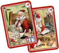 Schwarzer Peter - Nostalg.Kartenspiel, Adventsschachtelspiel