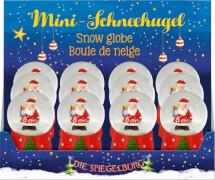 Mini-Schneekugel Weihnachtsexpress