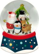 Schneekugel mit Licht  Fröhliche Weihnachten