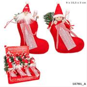 Depesche 10781 Weihnachtsgeld im Filzstiefel