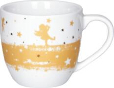 Porzellan-Tasse Goldengel (Weihnachtswunder)