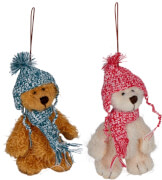 Bären-Anhänger Weihnachtsgeschenke für Kinder, sortiert nicht frei wählbar