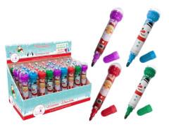 Weihnachtszauber Roll-Stempel+Stift