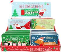 Weihnachtliche Gutscheinkärtchen zum Herausziehen