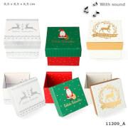 Weihnachtsgeschenkbox mit Sound mini