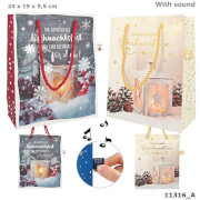 Weihnachtstüten mit Sound mittel