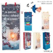 Weihnachtstüten mit Sound Flasche