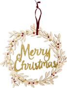 Weihnachtskranz  Merry Christmas  Endlich Weihnachten!
