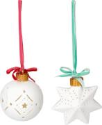 LED-Anhänger  Weihnachten, sortiert