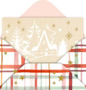 Mini-Briefchen Weihnachtliche Grüße sortiert