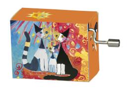 fridolin - Spieluhr - Für Elise - Katzenfamilie