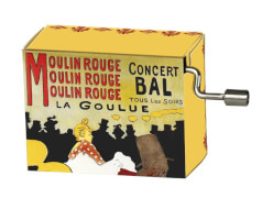 fridolin - Spieluhr - French Can Can - Moulin Rouge
