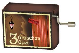 fridolin - Spieluhr - Mackie Messer - Drei-Groschen-Oper