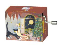 fridolin - Weihnachtsspieluhr - Stille Nacht - Wachtmeister, Adventura d 'amore