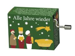 fridolin - Weihnachtsspieluhr - Edition 2 - Alle Jahre wieder