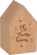 Spieluhr Holzhäuschen Alle Jahre wieder ?
