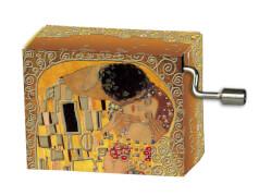 fridolin - Spieluhr - Arabesque - Klimt Der Kuss