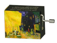 fridolin - Spieluhr - Blumenwalzer - Van Gogh Cafe Terrasse bei Nacht