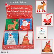 Depesche 8669 Figürliche Geschenkkärtchen Weihnachten