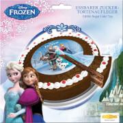 Disney Frozen - Die Eiskönigin Zucker-Tortenaufleger rund, 17g, ca. 16 cm