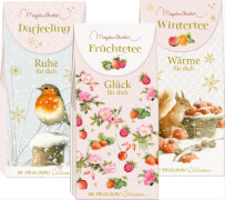 Tee-Variationen ''Wärme/Ruhe/Glück'' Basti
