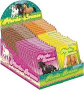 Pferde-Prause sortiert, ab 3 Jahren.