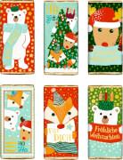 Schokolade Frohe Weihnachten 30g, sortiert Weihnachtsgeschenk für Kinder nicht frei wählbar