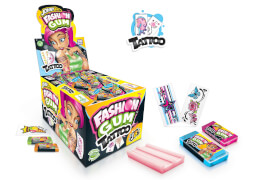 Johny Bee Fashion Gum mit Tattoo 5g