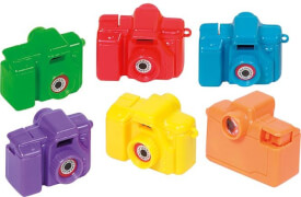 GoKi Mini-Kamera mit Bildern (wilde Tiere)