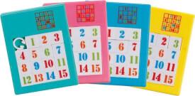 GoKi Kunststoffschiebepuzzle Nummern