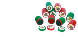 GoKi Kunststoff-Stempel, Weihnachtsmotive