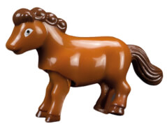 Aufzieh Hoppel-Pferd ca. 7 cm